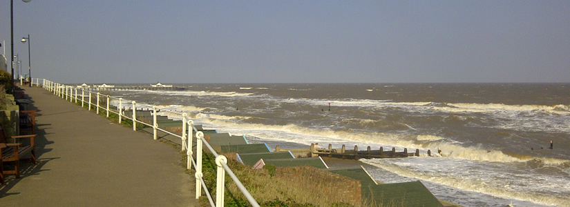 Photo of Southwold beach, April 2013