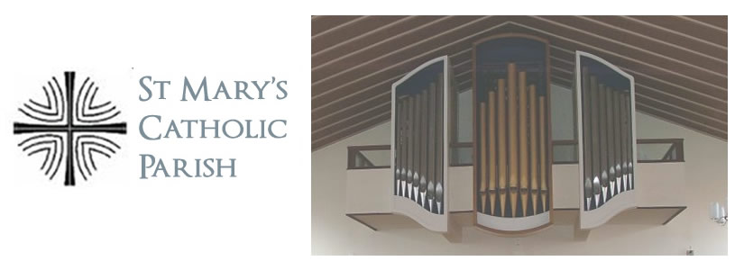Photo of organ pipes at St Mary's Church